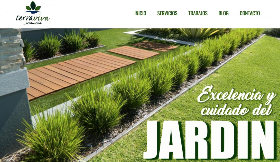 Foto Tierra Viva Jardinería estrena página web